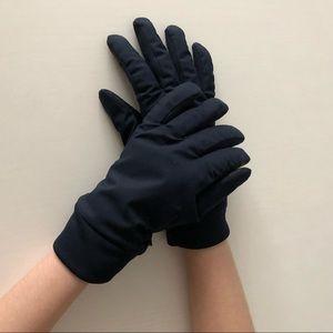 Uniqlo heattech gloves. Navy